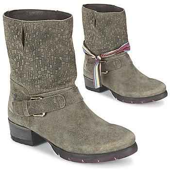 鞋子 女士 短筒靴 Felmini RARSA 棕色