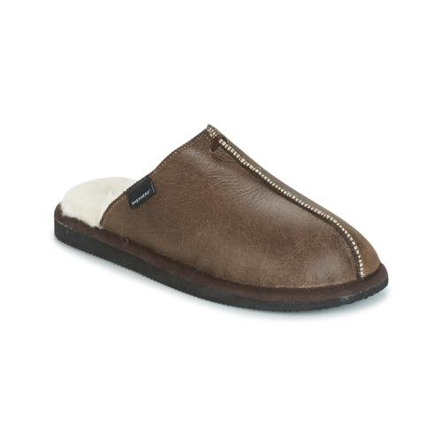 鞋子 男士 拖鞋 Shepherd HUGO 棕色