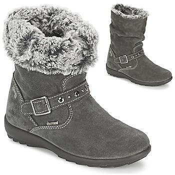 鞋子 女孩 都市靴 Primigi GLOSSY GORETEX 灰色