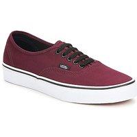 鞋子 球鞋基本款 Vans 范斯 AUTHENTIC 波尔多红