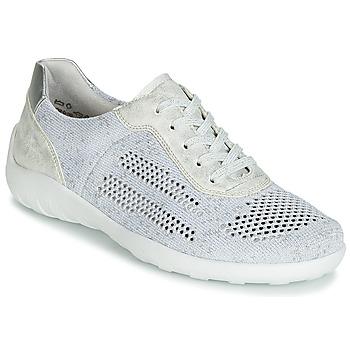 鞋子 女士 球鞋基本款 Remonte ZERBA 銀灰色