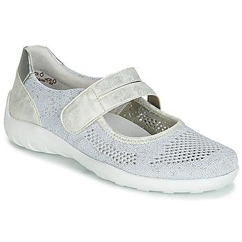 鞋子 女士 平底鞋 Remonte HUIJI 银灰色