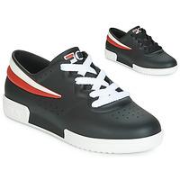 鞋子 女士 球鞋基本款 Melissa 梅麗莎 SNEAKER + FILA 黑色