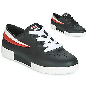 鞋子 女士 球鞋基本款 Melissa 梅丽莎 SNEAKER + FILA 黑色