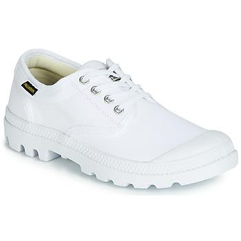 鞋子 球鞋基本款 Palladium 帕拉丁 PAMPA OX ORIGINALE 白色