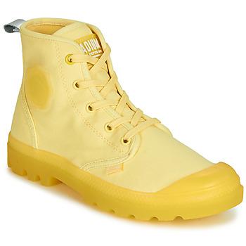 鞋子 女士 短筒靴 Palladium 帕拉丁 PAMPALICIOUS 黄色