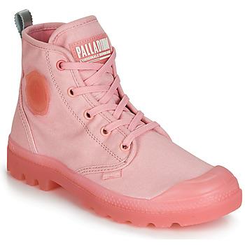 鞋子 女士 短筒靴 Palladium 帕拉丁 PAMPALICIOUS 玫瑰色