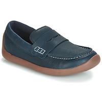 鞋子 儿童 皮便鞋 Clarks 其乐 ArtistStride K 海蓝色