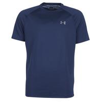 衣服 男士 短袖體恤 Under Armour 安德瑪 TECH 2.0 SS TEE 海藍色