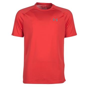 衣服 男士 短袖體恤 Under Armour 安德瑪 TECH 2.0 SS TEE 紅色