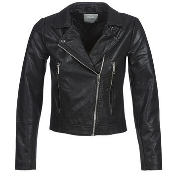 衣服 女士 皮夹克/ 人造皮革夹克 JDY JDYILDE 黑色