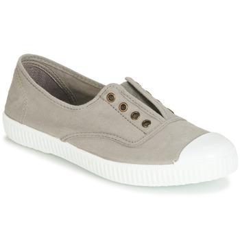 鞋子 球鞋基本款 Victoria 维多利亚 INGLESA ELASTICO TINTADA 灰色