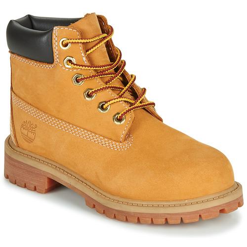 鞋子 儿童 短筒靴 Timberland 添柏岚 6 IN PREMIUM WP BOOT 米色