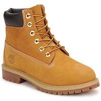 鞋子 男孩 短筒靴 Timberland 添柏岚 6 IN PREMIUM WP BOOT 棕色