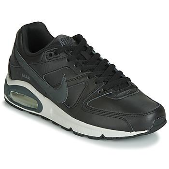 鞋子 男士 球鞋基本款 Nike 耐克 AIR MAX COMMAND LEATHER 黑色