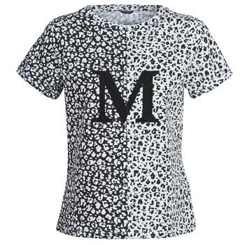 衣服 女士 短袖体恤 Marciano RUNNING WILD 黑色 / 白色