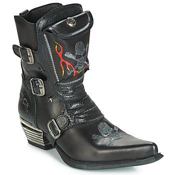 鞋子 男士 都市靴 New Rock M-WST024-S3 黑色