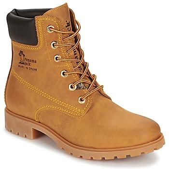 鞋子 女士 短筒靴 Panama Jack 巴拿马 杰克 PANAMA 黄色