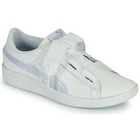 鞋子 儿童 球鞋基本款 Puma 彪马 VIKKY RIB PS BL 白色