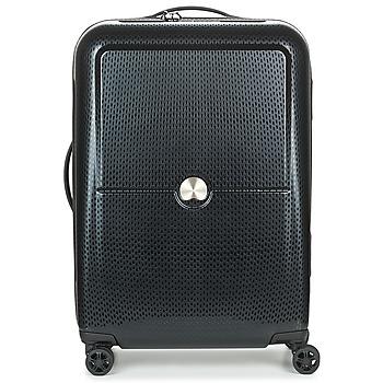 包 硬壳行李箱 Delsey TURENNE CAB 4R 55CM 黑色