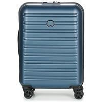 包 硬壳行李箱 Delsey SEGUR 2.0 CAB SL 4DR 55CM 蓝色