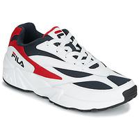 鞋子 男士 球鞋基本款 Fila V94M LOW 白色 / 红色