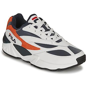鞋子 男士 球鞋基本款 Fila V94M R LOW 白色 / 橙色