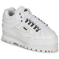 鞋子 女士 球鞋基本款 Fila TRAILBLAZER WEDGE WMN 白色