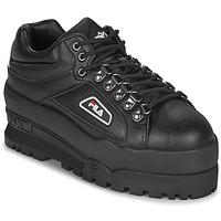 鞋子 女士 球鞋基本款 Fila TRAILBLAZER WEDGE WMN 黑色