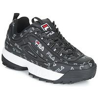 鞋子 女士 球鞋基本款 Fila DISRUPTOR LOGO LOW WMN 黑色