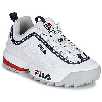 鞋子 女士 球鞋基本款 Fila DISRUPTOR LOGO LOW WMN 白色