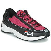 鞋子 女士 球鞋基本款 Fila DSTR97 黑色 / 玫瑰色