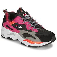 鞋子 女士 球鞋基本款 Fila RAY TRACER WMN 黑色 / 玫瑰色
