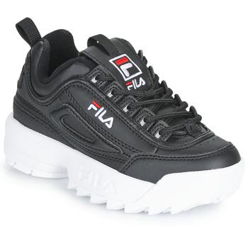鞋子 儿童 球鞋基本款 Fila DISRUPTOR KIDS 黑色