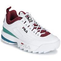 鞋子 女士 球鞋基本款 Fila DISRUPTOR  CB LOW WMN 白色