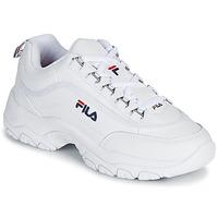 鞋子 女士 球鞋基本款 Fila STRADA LOW WMN 白色