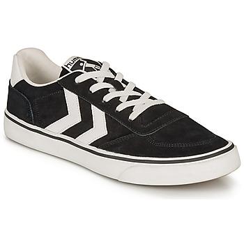 鞋子 球鞋基本款 Hummel STADIL 3.0 SUEDE 黑色 / 白色