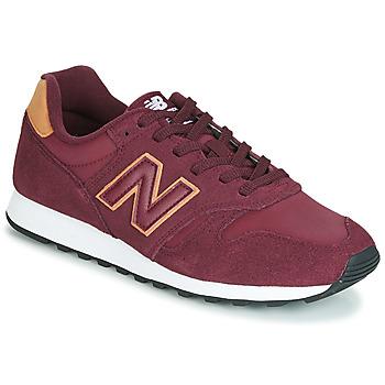 鞋子 球鞋基本款 New Balance新百伦 373 波尔多红