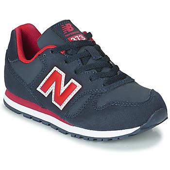 鞋子 男孩 球鞋基本款 New Balance新百倫 373 藍色 / 紅色