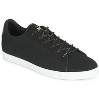 鞋子 女士 球鞋基本款 Le Coq Sportif 乐卡克 AGATE NUBUCK 黑色 / 银色