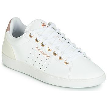 鞋子 女士 球鞋基本款 Le Coq Sportif 乐卡克 COURTSTAR W BOUTIQUE 白色 / 玫瑰色