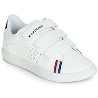 鞋子 兒童 球鞋基本款 Le Coq Sportif 樂卡克 COURTSTAR PS SPORT BBR 白色