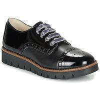 鞋子 女孩 德比 Catimini COXINELA 黑色