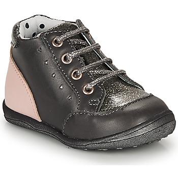 鞋子 女孩 短筒靴 Catimini CLELIA 灰色 / 玫瑰色