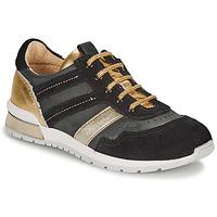 鞋子 女孩 球鞋基本款 Catimini CAMELINE 黑色