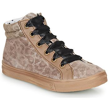 鞋子 女孩 高帮鞋 Catimini CALENDULE Leopard