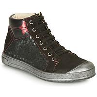 鞋子 女孩 高帮鞋 GBB ORENGETTE 黑色 / 银灰色