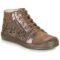 鞋子 女孩 高帮鞋 GBB ORENGETTE 灰褐色