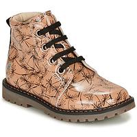 鞋子 女孩 短筒靴 GBB NAREA 玫瑰色 / 黑色