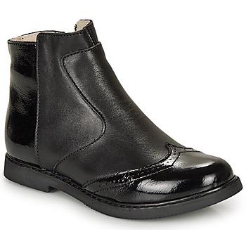鞋子 女孩 短筒靴 GBB OURIETTE 黑色